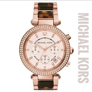Michael Kors Ladies Parker Chronograph Watch